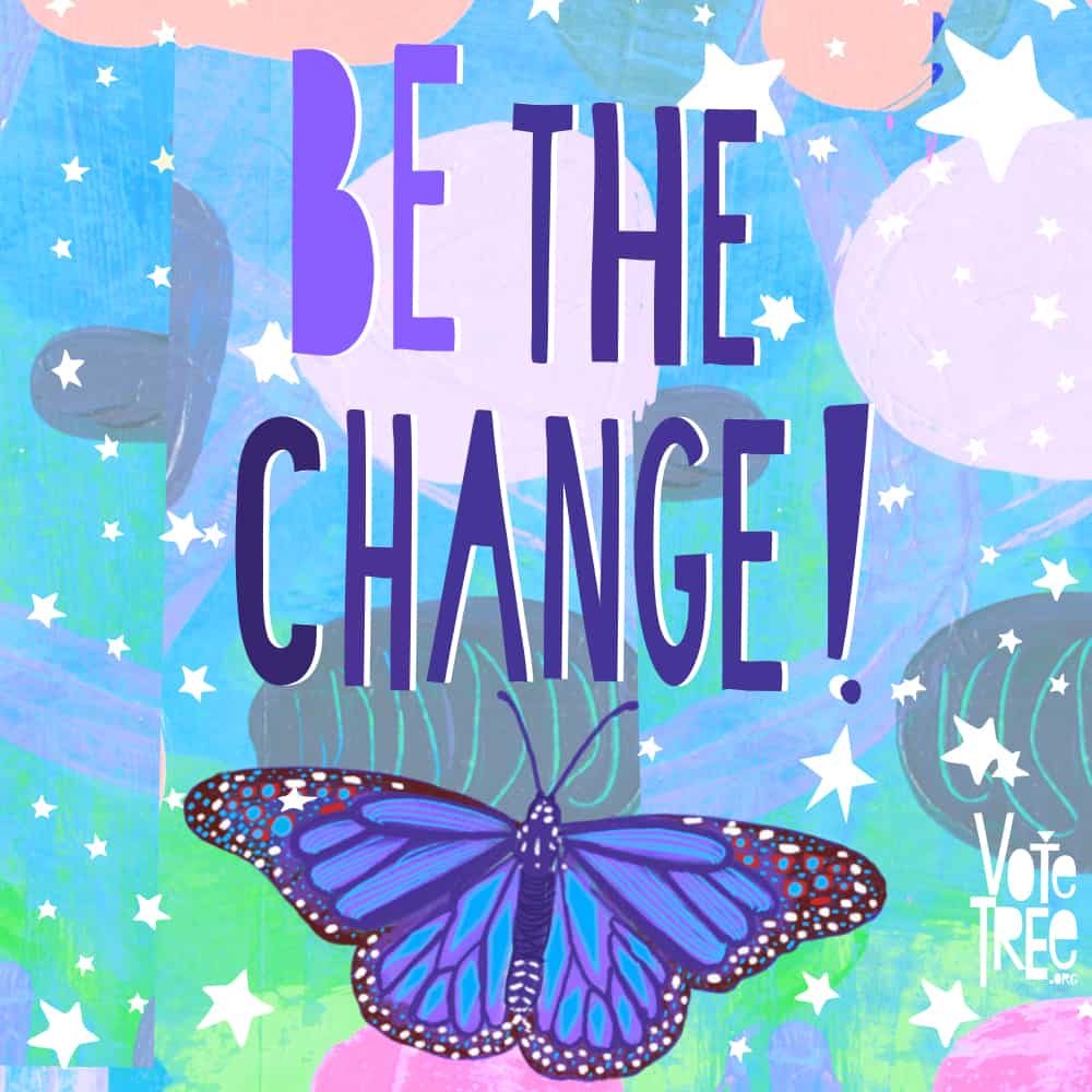 SaraJo Frieden - Be the Change