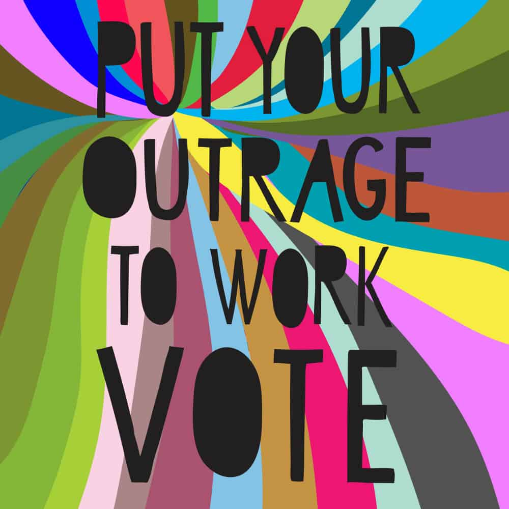 SaraJo Frieden - Put Your Outrage to Work