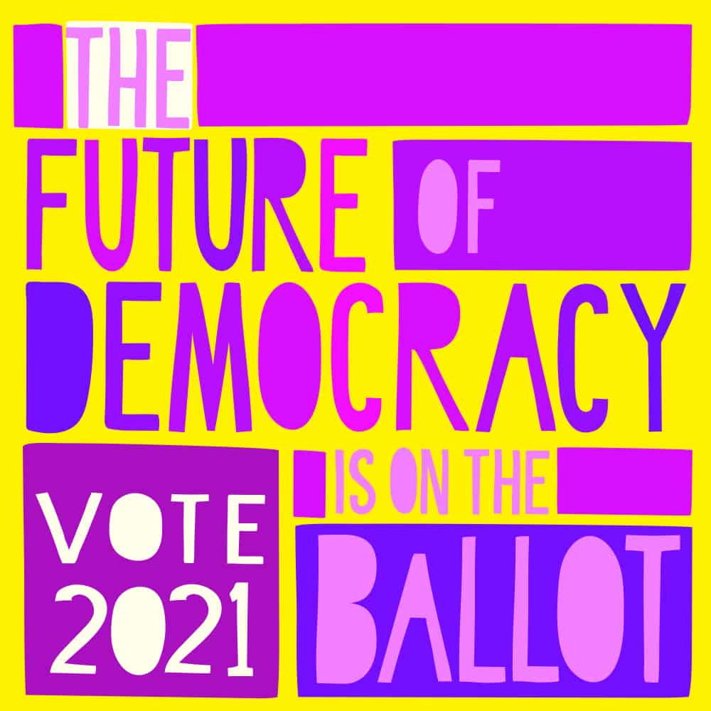 SaraJo Frieden - The Future of Democracy is on the Ballot