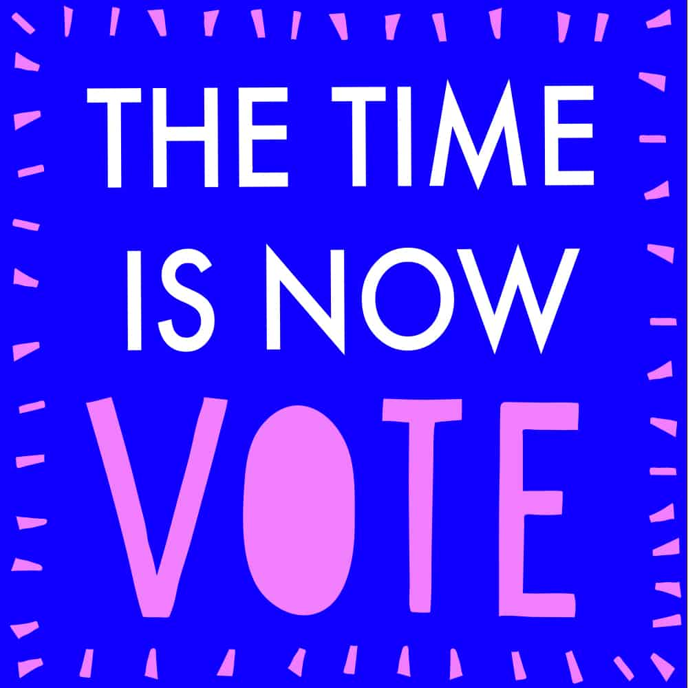 SaraJo Frieden - Now Is the Time is Now Vote